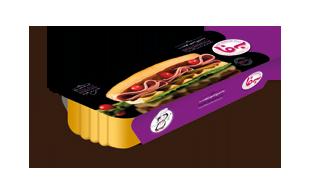 ساندویچ ژامبون گوشت 60%